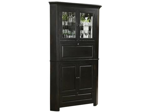 Howard Miller Clock Co. - Cornerstone Estates Wine and Bar Cabinet - 695-082