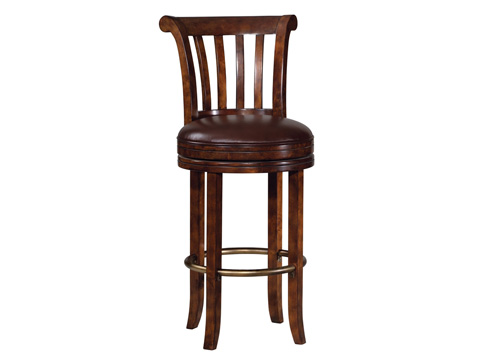Howard Miller Clock Co. - Ithaca Barstool - 697-000