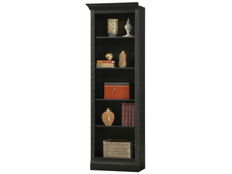 Howard Miller Clock Co. - Oxford Left Return Bookcase - 920-014