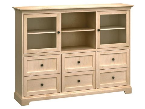 Howard Miller Clock Co. - Custom Home Storage Cabinet - HS73J