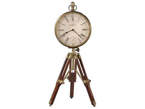 Howard Miller Clock Co. - Time Surveyor Mantel Clock - 635-192