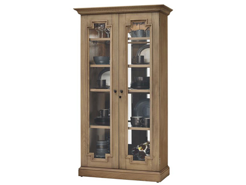 Howard Miller Clock Co. - Chasman II Display Cabinet - 670-011