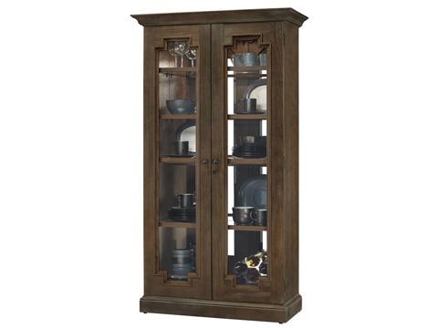 Howard Miller Clock Co. - Chasman III Display Cabinet - 670-012