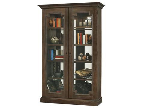 Howard Miller Clock Co. - Desmond III Display Cabinet - 670-017