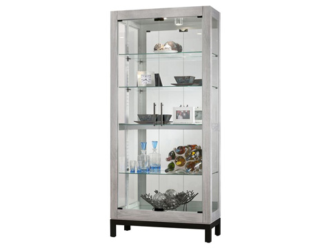 Howard Miller Clock Co. - Quinn II Display Cabinet - 680-599