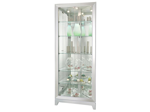 Howard Miller Clock Co. - Ronan Display Cabinet - 680-601