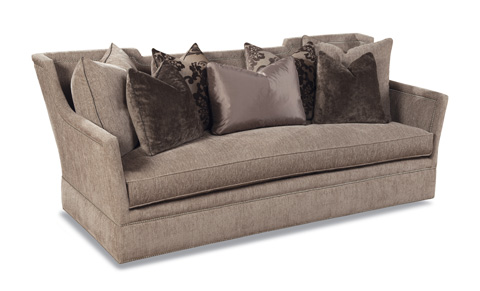 Huntington House - Scatterback Upholstered Sofa - 7440-20