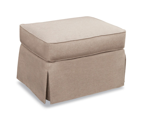 Huntington House - Skirted Ottoman - 3165-55