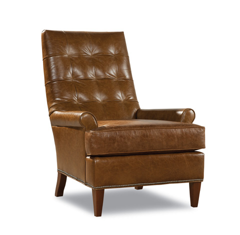 Huntington House - Leather Upholstered Chair - 7484-50