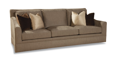 Huntington House - Three Cushion Upholstered Sofa - 7204-20