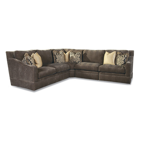 Huntington House - Upholstered Sectional - 7204 SECT