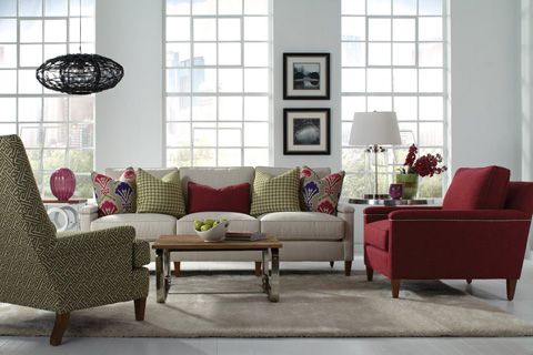 Image of In Full Bloom Two Piece Living Room Collection