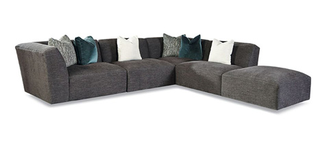 Huntington House - Five Piece Sectional Sofa - 7722-SECT