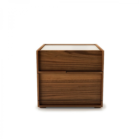 Huppe - 2 Drawer Small Night Table - 004043