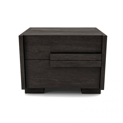Image of Night Table with 2 Drawers