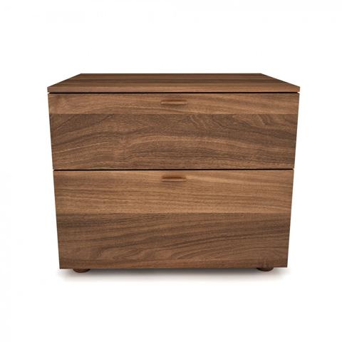 Huppe - Two Drawer Nightstand - 002344