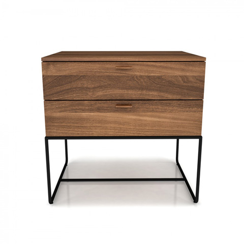 Huppe - Two Drawer Nightstand - 02344M