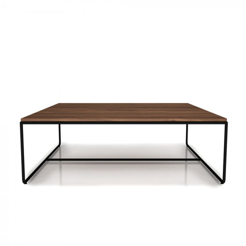 Image of Linea Center Table With Steel Frame