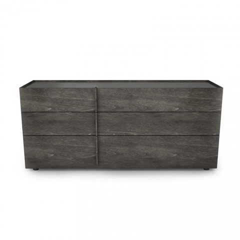 Image of Plank Six Drawer Dresser