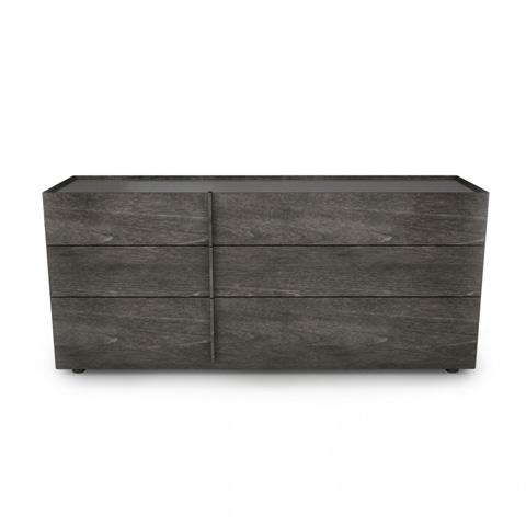 Image of Plank Six Drawer Dresser