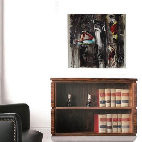 Hurtado - Low Bookcase - MN7011