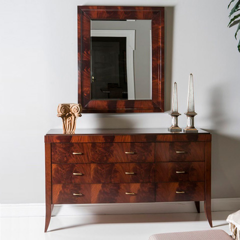 Hurtado - Dresser with Mirror - 303263-1