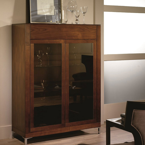 Hurtado - Bookcase with Doors - 304905