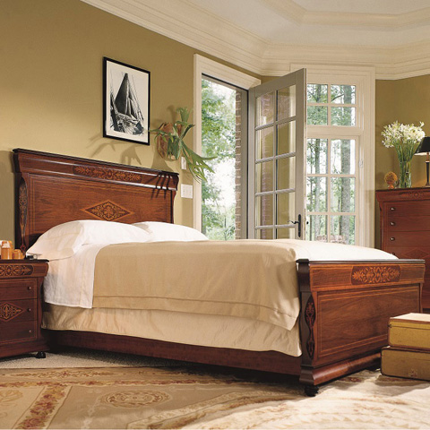 Hurtado - King Bed - 3KP745
