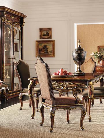 Henredon - Upholstered Camel Back Arm Chair - 4501-27