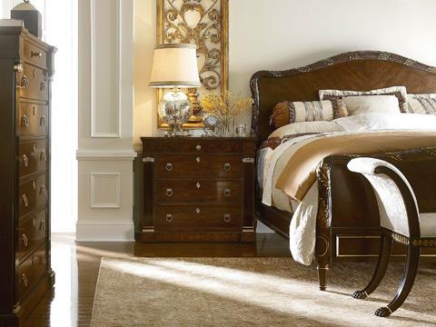 Henredon - King Panel Bed - 2706-12HF / 2706-12R