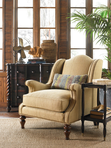 Hickory White - Upholstered Club Chair - 4601-01