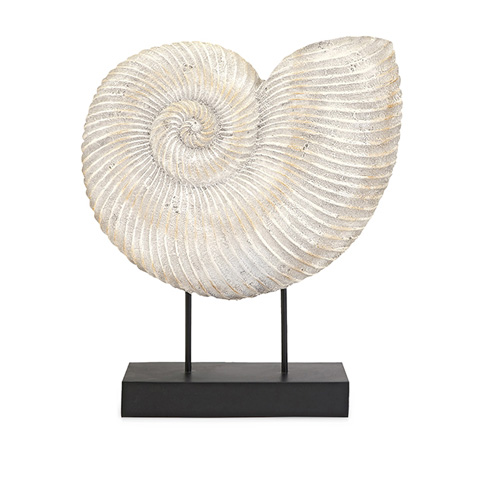 IMAX Worldwide Home - Ramsey Sea Shell On Stand - 10302