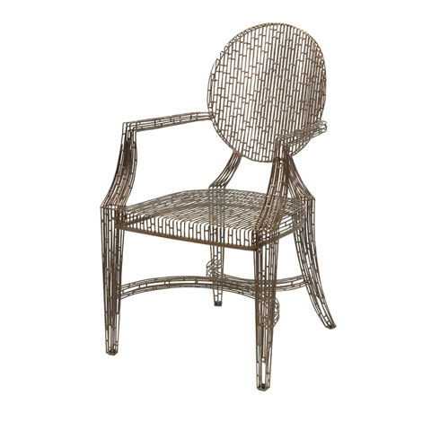 IMAX Worldwide Home - Wilkins Handcrafted Metal Arm Chair - 11017