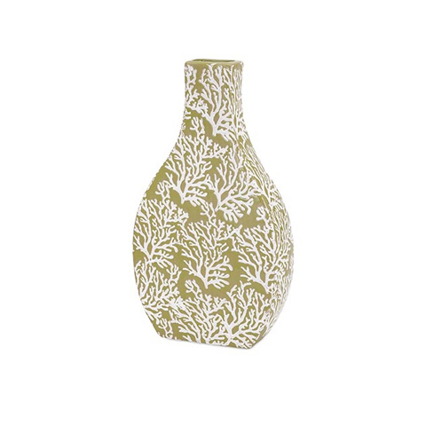 IMAX Worldwide Home - Coral Small Ceramic Vase - 11732