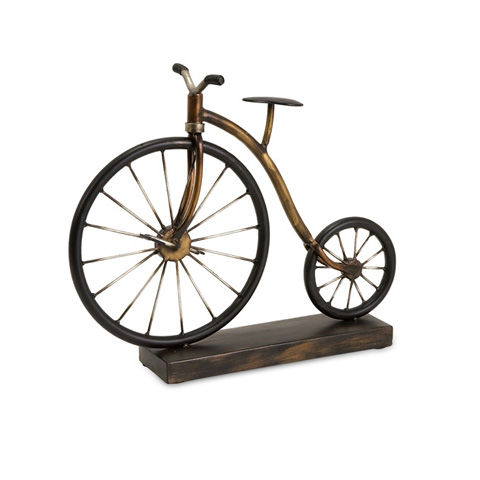 Image of Big Wheel Bicycle Statuary