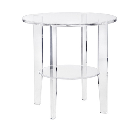IMAX Worldwide Home - Estelle Acrylic Accent Table - 13215