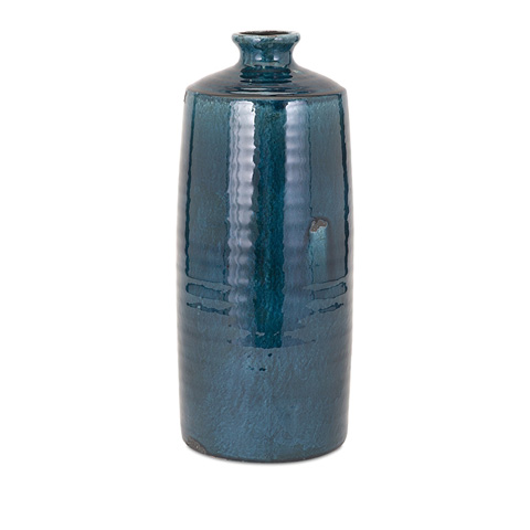 IMAX Worldwide Home - Arlo Blue Large Vase - 13310