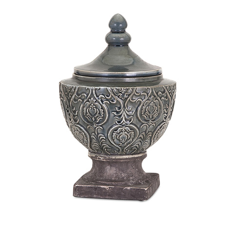 IMAX Worldwide Home - Elliott Large Ceramic Urn - 13314