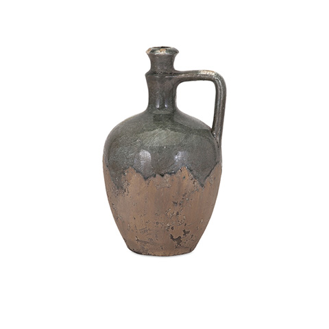 IMAX Worldwide Home - Bardot Blue Stone Small Ceramic Jug - 13324