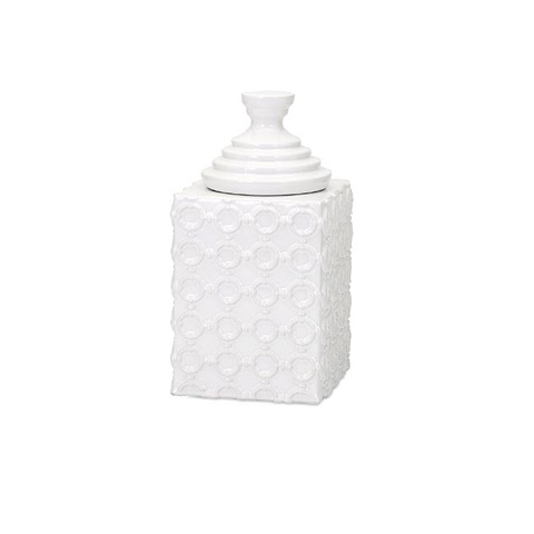 IMAX Worldwide Home - Sullivan Small Ceramic Canister - 13532