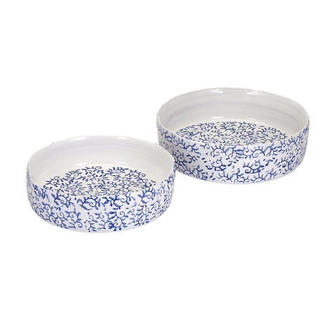 IMAX Worldwide Home - Beaufort Trays - Set of 2 - 13628-2