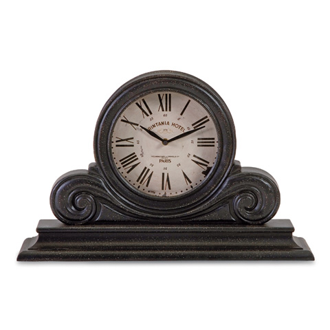 Image of Black Mantle Clock