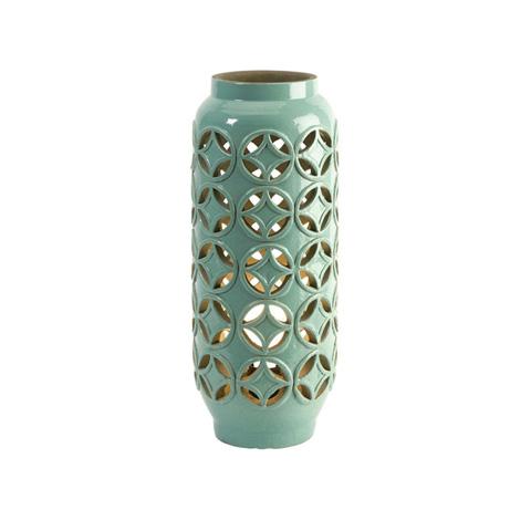 IMAX Worldwide Home - Creighton Cutwork Ceramic Lamp - 18187