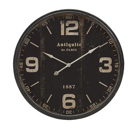 IMAX Worldwide Home - Robertson Black Wall Clock - 18301