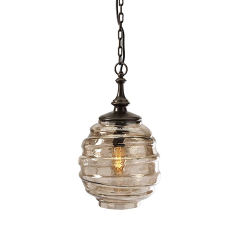 IMAX Worldwide Home - Percy Glass Pendant Light - 20250