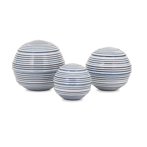 IMAX Worldwide Home - Libby Spheres - Set of 3 - 25309-3