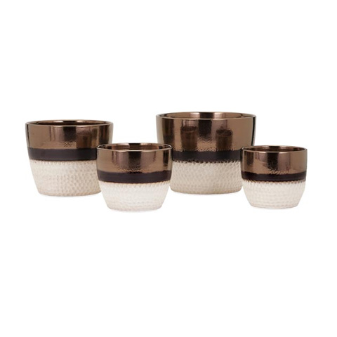 IMAX Worldwide Home - Atley Planters - Set of 4 - 25372-4