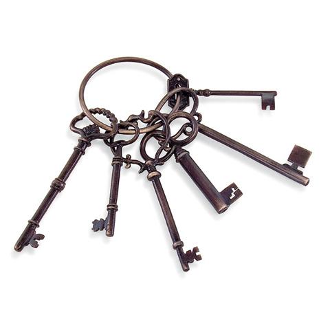 IMAX Worldwide Home - Decorative Keys on Ring - 2567