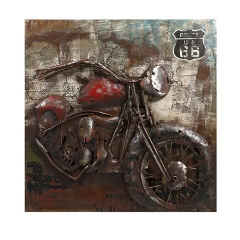 IMAX Worldwide Home - Motorcycle Dimensional Metal Art - 26500