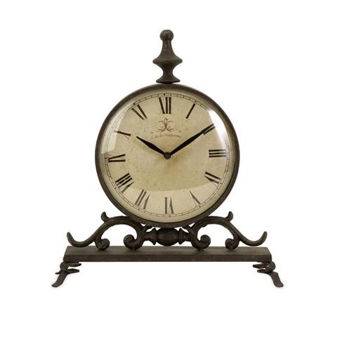 IMAX Worldwide Home - Eilard Iron Table Clock - 27562